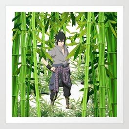 Hero anime 01 Art Print