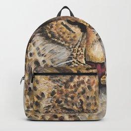 Strength Leopard Backpack