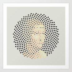 Optical Illusions - Famous Work of Art 5 Art Print