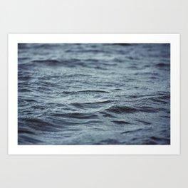 Carved Waves Art Print