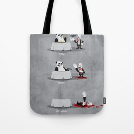 Eating Habits of the Panda Tote Bag