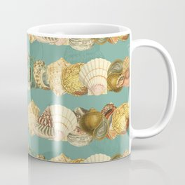 Sea shells pattern 3 Coffee Mug