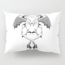 Love Dragons Pillow Sham