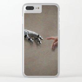 Adam Clear iPhone Case