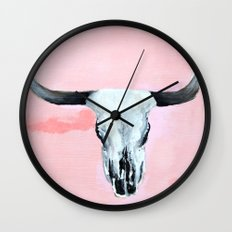 Rose Gold Wall Clock