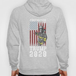 Firefighter For Trump 2020 Hoody