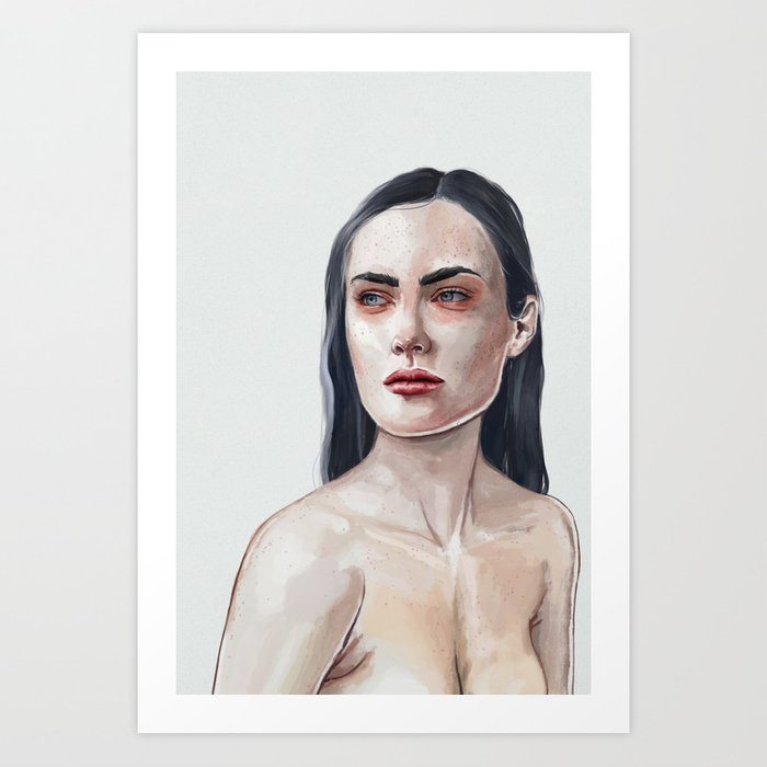 Bibaud Art Print