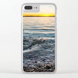 Multi-Splash Clear iPhone Case