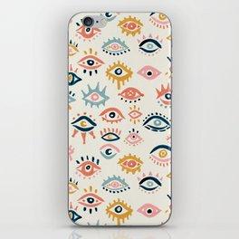Mystic Eyes – Primary Palette iPhone Skin