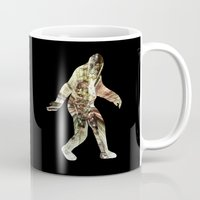 bigfoot Mugs featuring Bigfoot Predator by D-fens