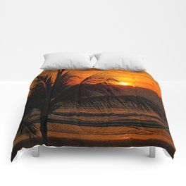 Another Beautiful Sunset Comforters