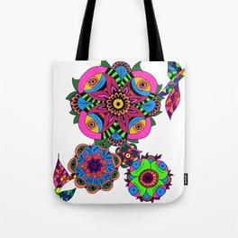Alien Flower Tote Bag