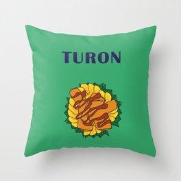 Filipino Kitchen Loteria - Turon Throw Pillow