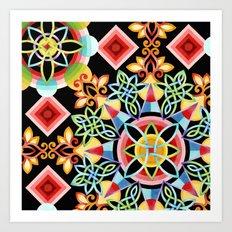 Celestial Mandala Art Print