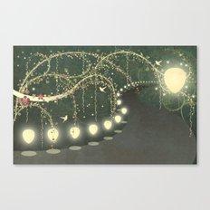 Guiding Lights Canvas Print