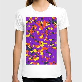 Organic pattern T-shirt