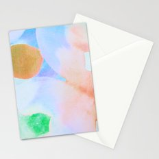 Polka Dot Coral Stationery Cards