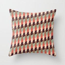 Struck Twice Throw Pillow