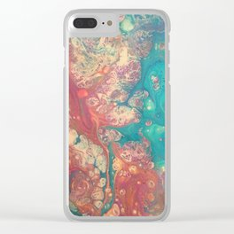 Confusion Clear iPhone Case