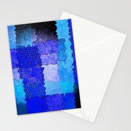 Blue Grunge Stationery Cards