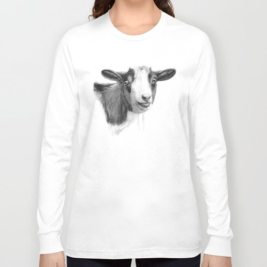 Curious goat sk098 Long Sleeve T-shirt