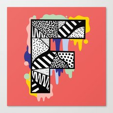 F for ... Canvas Print