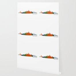 San Francisco City Skyline Hq v1 Wallpaper