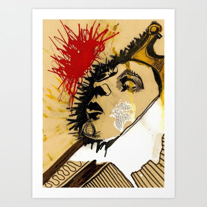 la reina Art Print