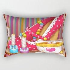 Tea Lovely Rectangular Pillow