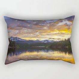 Mile High Sunset Rectangular Pillow