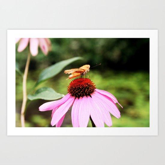Fallin' Pollen Art Print