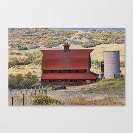 Perry Park Barn Canvas Print