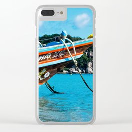 Long-Tail Koh Tao, Thailand Clear iPhone Case