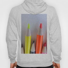 Colored Pencil Tips Hoody