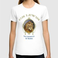 narnia T-shirts featuring The Chronicles of Narnia by Quigley Down Under