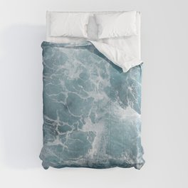 White water waves Comforters