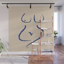 Sit With Me Wall Mural
