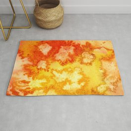 Surface of the Sun Rug