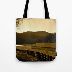 Down the Golden Loop Tote Bag