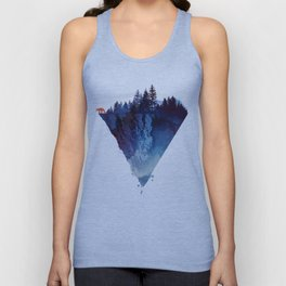 Near to the edge Unisex Tank Top