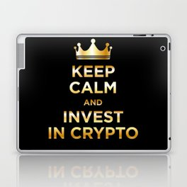 Keep Calm and Invest Laptop & iPad Skin