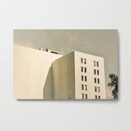 Modern Minimal Cityscape Metal Print