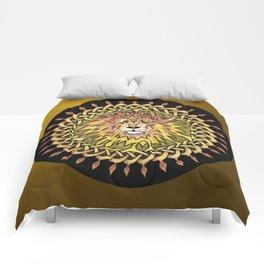 Lion Celtic Knot Mandala Comforters
