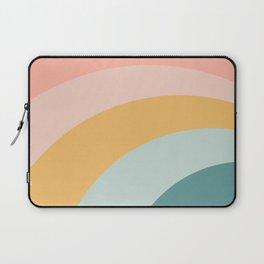 boho rainbow in soft & trendy colors, minimalism Laptop Sleeve