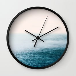 Ocean Fog Wall Clock