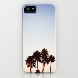 Sunset and Palms iPhone Case