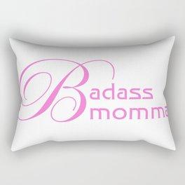 Badass Momma Rectangular Pillow