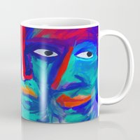 faces Mugs featuring faces by Pavel Karelsky