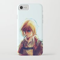 viria iPhone & iPod Cases featuring Armin Arlert by viria