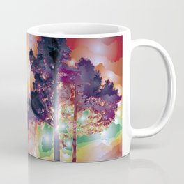 Lights And Tree Tether Facelift Coffee Mug